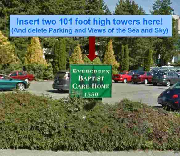 Evergreen Baptist Care Home Parking Lot