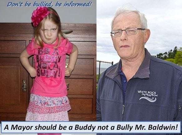 Be a Buddy Not a Bully Mayor Baldwin