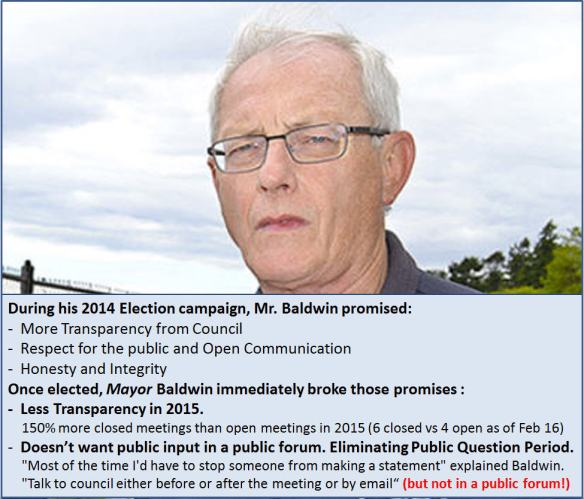 The Broken Promises of Mayor Baldwin