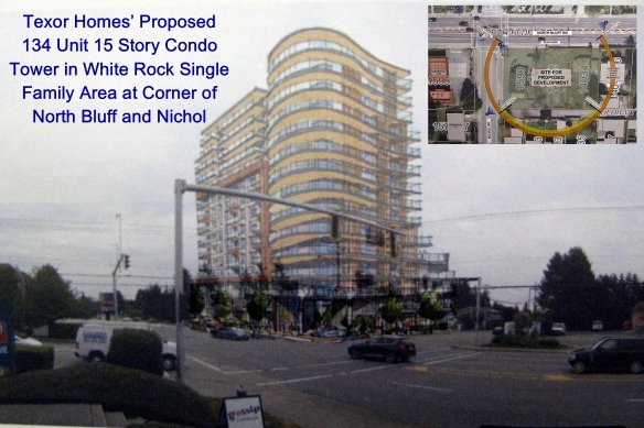 Texor Proposed 15 Story Condo-Tower at North Bluff and Nichol