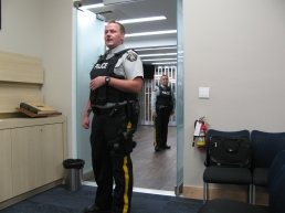 RCMP Arrive on Mayor Baldwin's Orders to Access the Situation