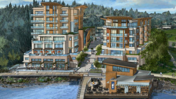 george-proposed Hotel and Condo for Gibsons